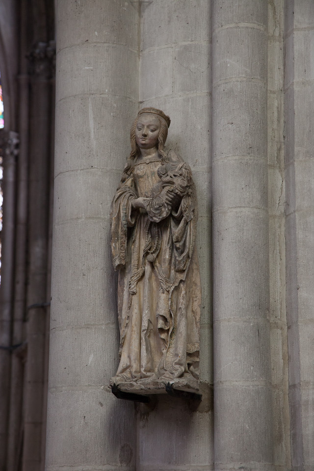 Troyes - Saint-Urbain - The Virgin and Child
