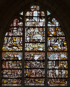 Troyes - Saint-Jean-au-Marc he - Grisialle Window - John The Baptist