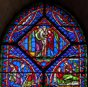 Troyes Cathedral - Early Life of The Virgin - Marriage of The Virgin