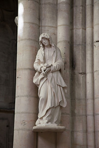 Troyes - Saint-Urbain - The Virgin