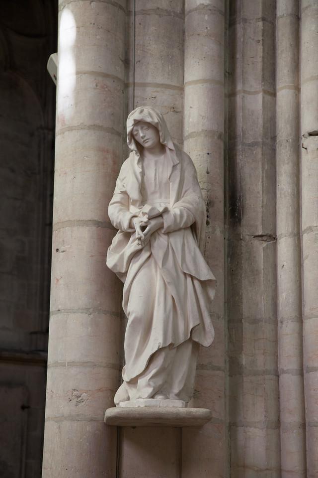 Troyes - Saint-Urbain - The Virgin
