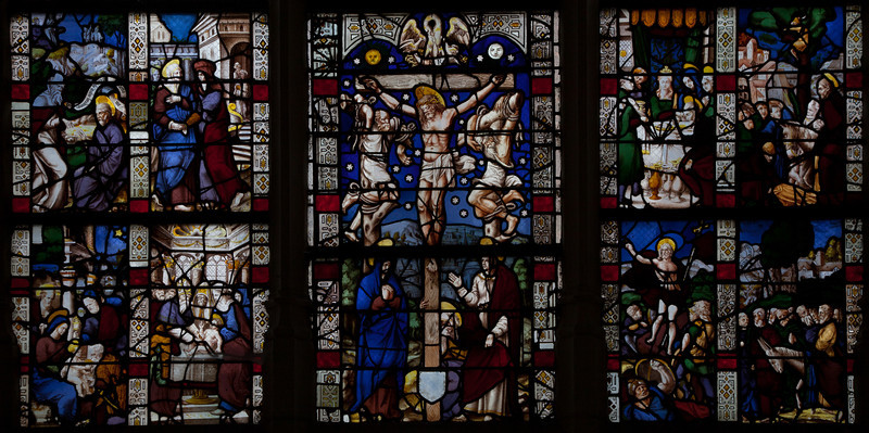 Troyes - Saint-Jean-au-Marc he - The Crucifixion