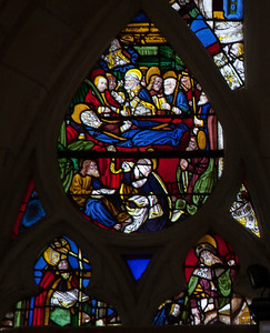 Troyes - Saint-Jean-au-Marc he - Death of the Virgin