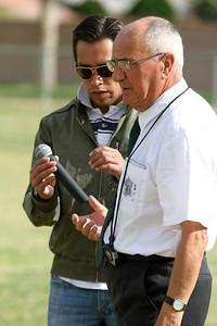 Judge Agremont and translator, Alvaro Olvera, during the trial competition.  © Erin Suggett Photography 2012 All Rights Reserved