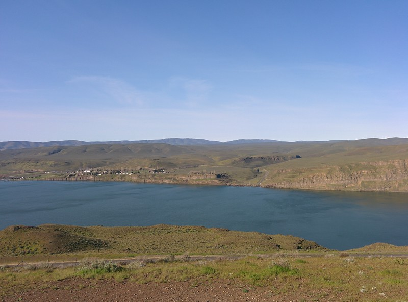 The Columbia River across from Vantage, WA.