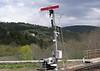 Semaphore signal, Langogne, Tues 3 May 2005.