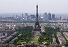And finally 1: The Eiffel Tower, Paris, 12 May 2005.  Seen from the Montparnasse Tower.