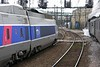 SNCF 231.K.8 & TGV 64, Dijon Ville, Fri 6 May 2005 2 - 1617.  Parallel departure.