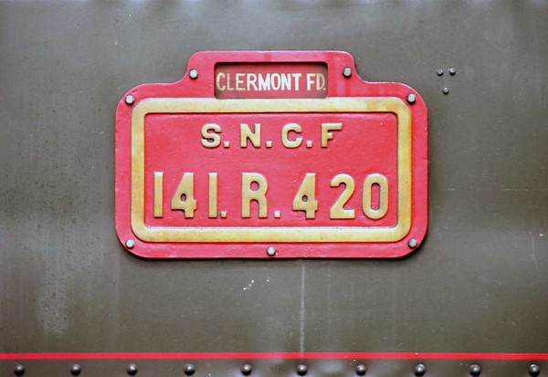 SNCF 141.R.420, Langogne, Tues 3 May 2005 5