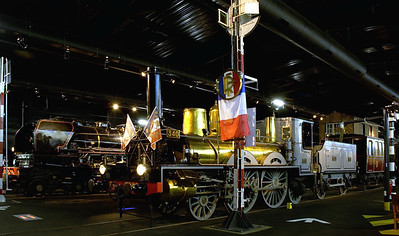 Preserved French steam locos