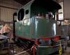 Vertical-boilered 0-4-0 tank No 2850, Vogelsheim, France, Sun 17 July 2005.  Built in Belgium by Cockerill (2850 / 1913).