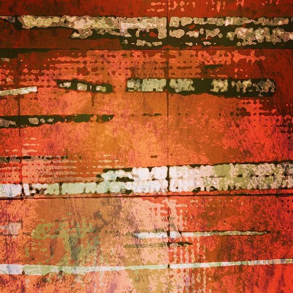 #lines on #orange #abstractart #art #davedavidson