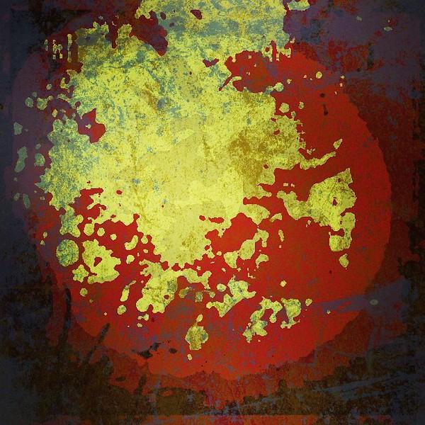 #heart #moon #eclipse #abstractart #art #davedavidson