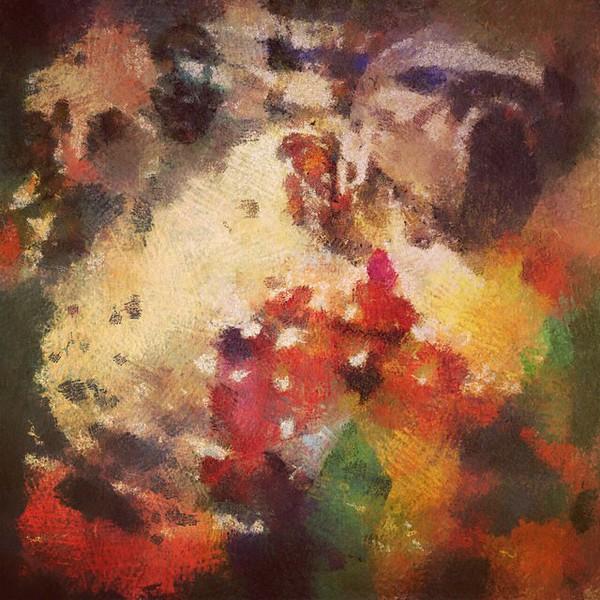 #rainbow #beast #abstractart #art #davedavidson