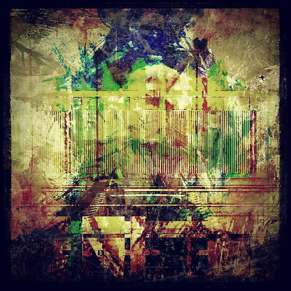 #abstractart #art #davedavidson #lines #green #blue