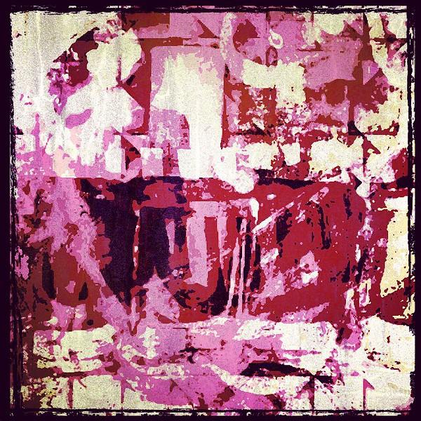 #pink #trapeze #abstractart #art #davedavidson