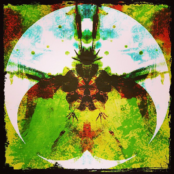 #fat #fly #butter #butt #art #abstractart #davedavidson