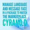 #Manage #language and message face <br /> in a #package to #match the #marketplace. #cyranod #overcome #motivationalquotes #motivation #inspiration #writersofinstagram #quotes