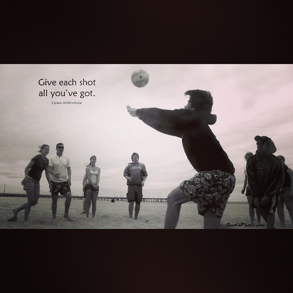 #CyranoD #quote #quotophoto #shot #volleyball