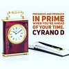 Progress and produce in prime<br /> when you're ahead of your #time. #cyranod #motivationalquotes #motivation #inspiration #quotes #writersofinstagram