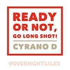 Ready or not, go long shot! <br /> Being ready is a fantasy fallacy.<br /> Get ready, not being completely #ready. #DaveDavidson #sixwordstory #sixwordmemoir #6wordstory #writersofinstagram #motivation #inspiration #quotes #quoteoftheday #poetsofinstagram #overnightsales  #cyranoD #rhymeo