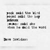 #typewriter #poem