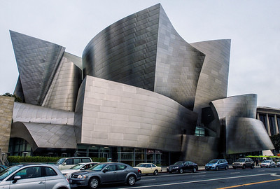 Walt Disney Concert Hall - Different Views
