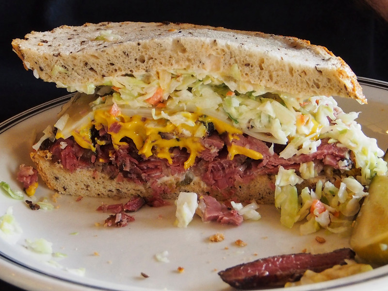 The #19 Pastrami, Swiss, Russian Dressing and Coleslaw on Rye at  Langer's Deli