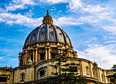 Dome of St. Peter's Basilica ...We're in Vatican City!!!