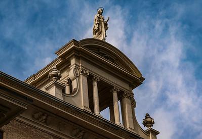 Angel at Basilica di San Pietro in Vaticano