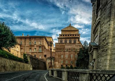 We're in Vatican City!!!