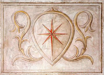 Crest at Castello di Verrazanno in Greve, Italy