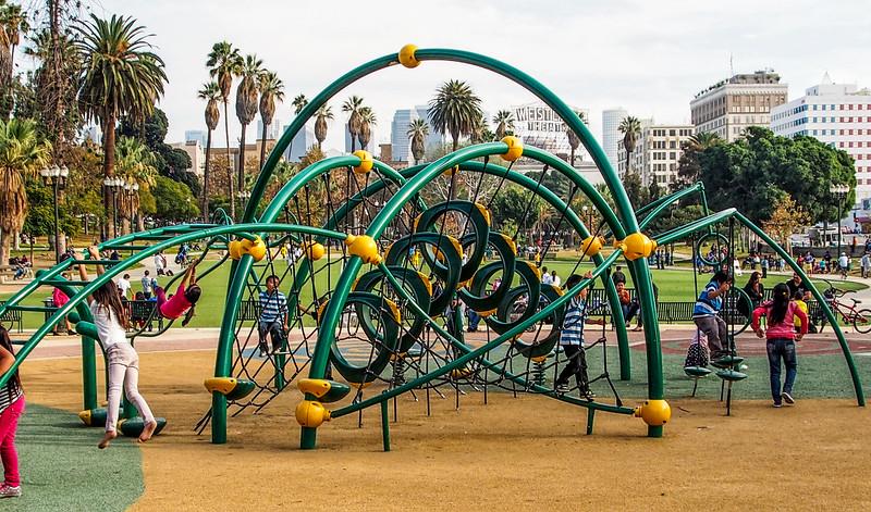 Children's Playground at MacArthur Park