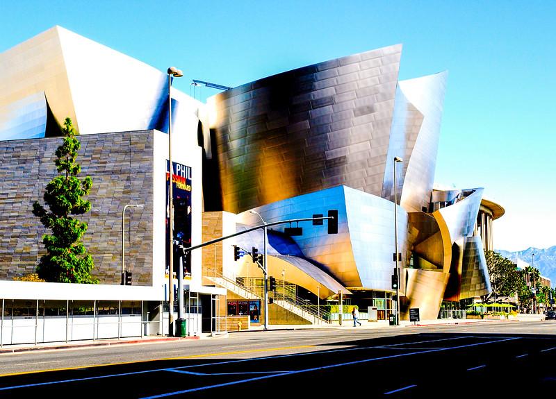 Walt Disney Concert Hall view for Grand St