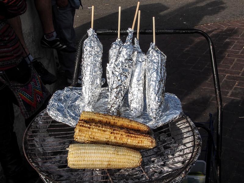 Grilled Corn at MacArthur Park