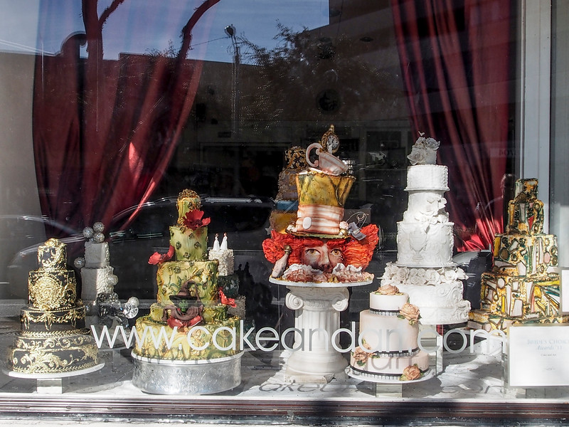 Cake and Art's Window.  They were the original custom made cake shop...been here forever!!!