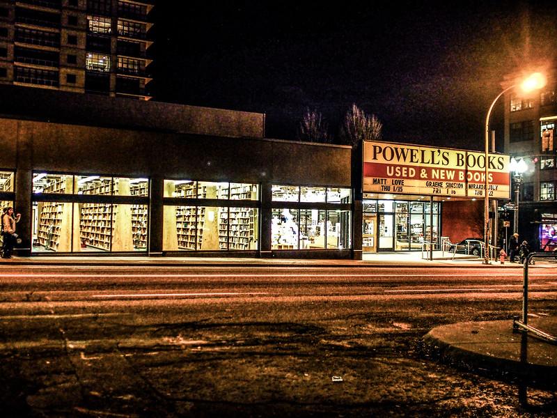 Powell Books in Portland Oregon