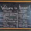 Daily Chalkboard Specials at Trinket in Portland, Oregon
