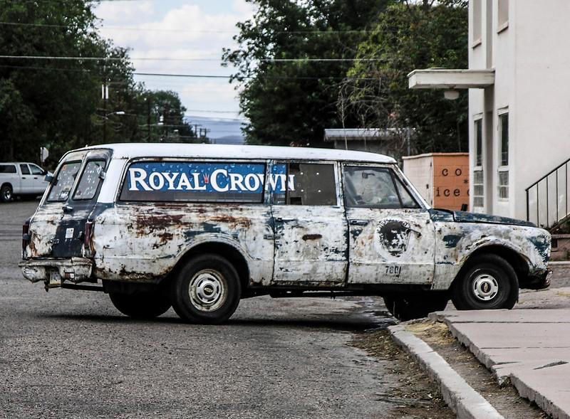 Royal Crown Truck in Marfa