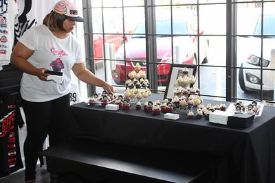 Cupcake Mafia Designed Atlanta Falcons Cupcakes for the Fashion + Football Men's Style Event