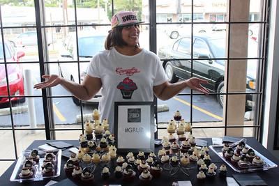 Cupcake Mafia Designed Falcons Cupcakes