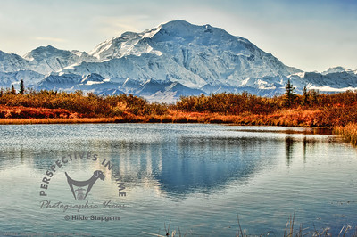 Denali - Mountain from Reflection Lake