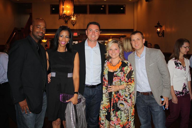 Kevin & Alison Jones, Jamie Fay, Kyle & Allisha Watkins