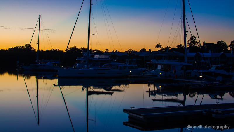 Sunsets & Sailboats