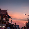 Thai Street Sunset