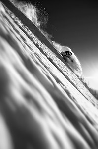 Deep snow, shallow focus...Trace Cooke at Whitewater BC