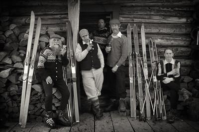 Schuss. At the Dean Cabin Red Mt.