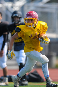 Menlo-Atherton Freshman Football Scrimmage against Terra Nova High School.