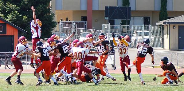 M-A Freshmen Football v Los Gatos 2012-09-08