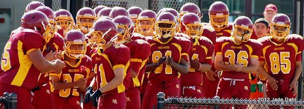 M-A Freshmen Football v Hillsdale 2012-Oct-06